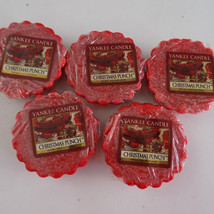 Yankee Candle Tarts Christmas Punch Lot of 5 Tart - $9.11