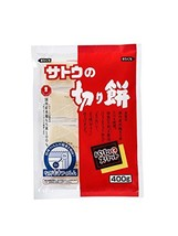 SATO NO KIRIMOCHI PARITTOSUITTO 400g rice cake - $13.47