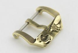 """Watch Buckle """"Shark And Saboteurs"""" For 24 Mm Watch Strap Handmade Brass - $79.00"""