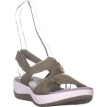 Clarks Arla Primrose Slingback Sport Sandals, Olive, 8 US / 39 EU - $31.67