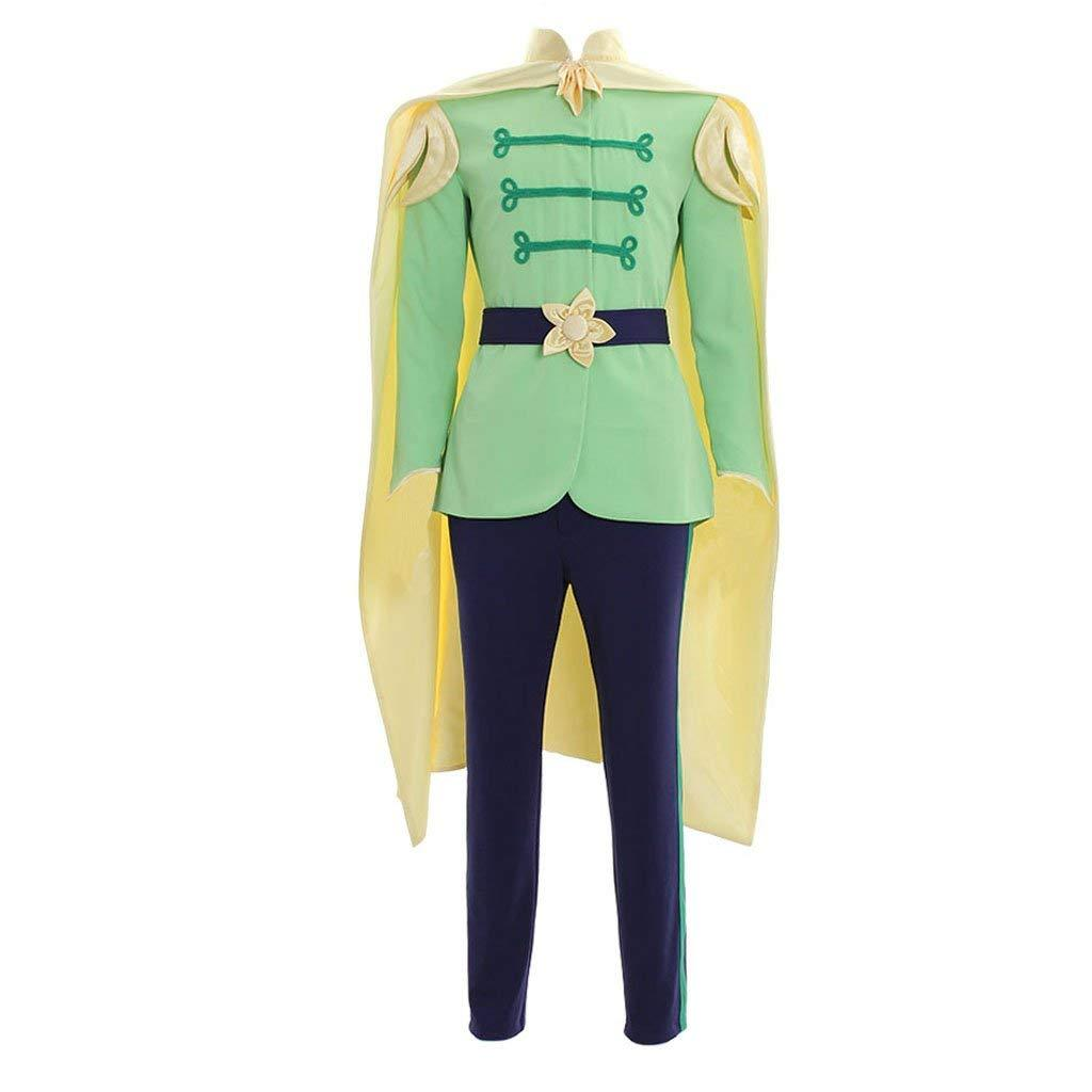 Prince Naveen Costume Men Suit Halloween Party Outfit Custom Any Size image 2