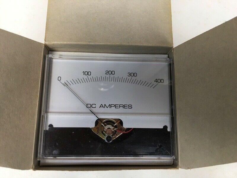 800 AMP NEW YOKOGAWA ANALOG PANEL AC AMMETER 0-400