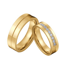 Classic LOVE Alliances marriage Proposal Wedding Couple Rings Set for men and wo - $10.35