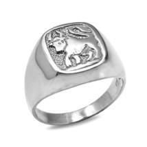 Sterlingsilber STIER Herren Sternzeichen Ring - $49.98