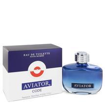 Aviator Code by Paris Bleu Eau De Toilette Spray 3.3 oz - $27.00