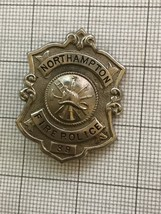 Obsolete Northampton Pa. Fire Police Badge #39 - $120.00