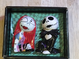 The Nightmare Before Christmas Jack Skellington and Sally Salt & Pepper Shakers - $16.50