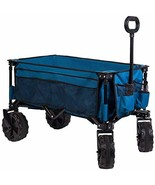 Timber Ridge Folding Camping Wagon/Cart - Collapsible Sturdy Steel Frame... - $146.23