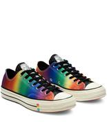 Converse Chuck 70 Ox Pride Glitter 165714C Black/Egret/Multi Sizes NWB U... - £61.11 GBP