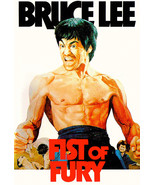 Bruce Lee Fist of Fury  Movie Poster Style B 13x19 inches - $12.19