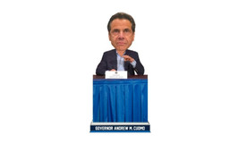 New York Governor Cuomo Bobblehead First Run March 2020  - #987/2,020 IN... - $97.50