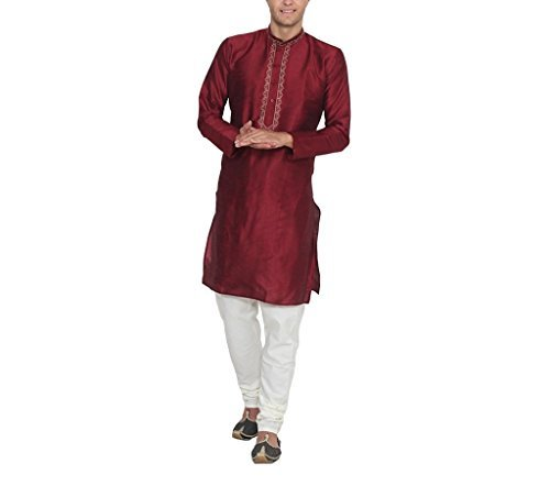 Primary image for RUCHI MART Indian Traditional Wear Mens Designer Kurta Pajama Bollywood Ethnic D