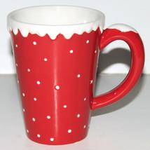Hallmark 3D Holiday Collection Christmas Coffee Tea Mug Red Snow Capped ... - $14.98