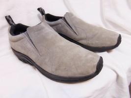 MERRELL Jungle Moc Slip On Loafers Sz 13 Castlerock Gray Water Resistant J71447 - $36.00
