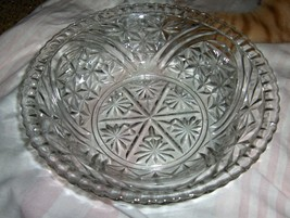 """Anchor Hocking """"Thousand Line"""" 8 inch deep vegetable bowl  - $20.00"""