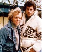 Starsky and Hutch V Paul Michael Glaser Vintage 28X35 Color TV Memorabil... - $45.95