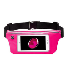 Waist Band Fanny Pack Phone Holder Pink fits Motorola G5 Plus - $12.86