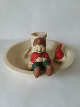 Partylite Santa's Elf Candle Holder - $5.93