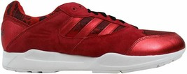 Adidas Tech Super Scarlet Red/White Men's D65457 Size UK 11.5 - $88.14