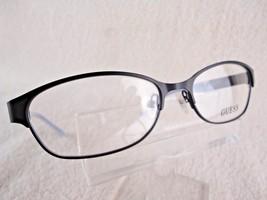 NEW GUESS GU 2353  Satin Black 53  X 16 135 mm Eyeglass Frame - $42.04