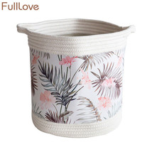 FULLLOVE® 27*29cm Dirty Laundry Baskets Fabric Organizer Basket Leaves P... - $40.51