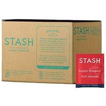 Stash Tea English Breakfast Black Tea 100 Count Box of Tea Bags in Foil - $31.46