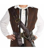 Amscan Pirate Bandolier Sash Gun Holster Belt Adult Men Halloween Costume 846350 - $22.99