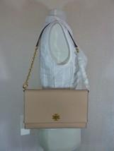 NWT Tory Burch Perfect Sand/Beige Leather Kira Chain Shoulder Bag/Clutch... - $295.02