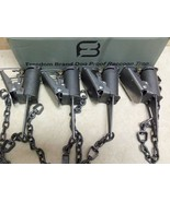 4 New Freedom Brand FB1 Easy Set Dog Proof Foothold Coon Traps Trapping ... - $53.21