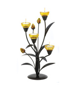 Tiger Lily Tealight Holder table Candle Sconce - $10.55