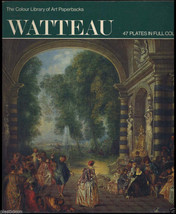 Vintage ROCOCO ART Painting Jean Antoine WATTEAU French PAINTER Artist B... - $9.95