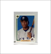 1991 Upper Deck #11 Bernie Williams, Rookie Card, Yankee Slugger - $14.99