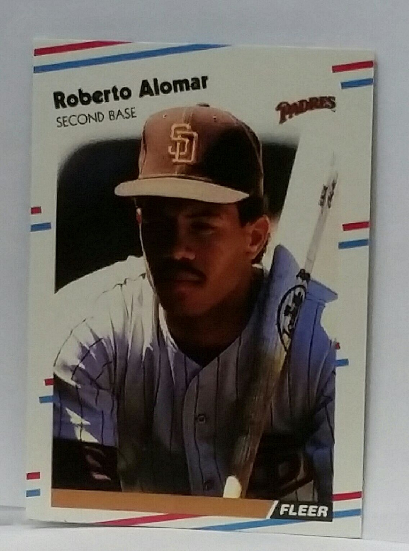 1988 Fleer Update U-122 Roberto Alomar Rookie Graded MINT