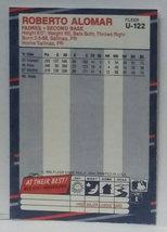 1988 Fleer Update U-122 Roberto Alomar Rookie Graded MINT image 3