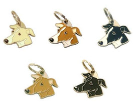 Custom engraved pet tag SIGHTHOUND (WHIPPET, GR... - $17.90