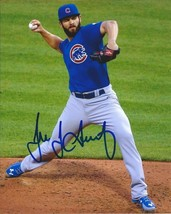 Jake Arrieta Signed Photo 8 X10 Rp Autographed Chicago Cubs - $19.99
