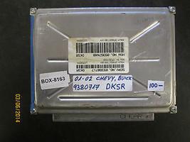 01 02 Chevy/Pontiac/Buick/Gmc/Gm Ecu/Ecm #9380717 Dksr *See Description* - $54.44