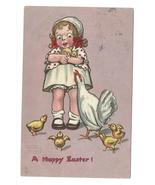 99 br 603 264 gassaway happy easter girl chicken chicks egg tuck thumbtall