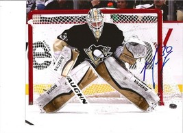 Matt Murray Signed Photo 8 X10 Rp Autographed Pittsburgh Penguins - $19.99