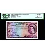 "BRITISH CARIBBEAN TERRITORIES P11b $20 ""MAP NOTE"" 1959 PCGS 35! EXTREMEL... - $4,950.00"