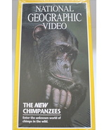 NATIONAL GEOGRAPHIC VIDEO/THE NEW CHIMPANZEES - $10.00