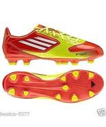 adidas F10 TRX FG J Youth Soccer Cleats V24794 Orange/Yellow/White NIB - $32.49