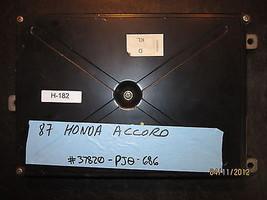 87 Honda Accord Ecu/Ecm #37820 Pj0 686 *See Item Description* - $47.51