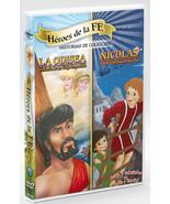Héroes de la Fe - LA ODISEA & NICOLAS - DVD - $22.95