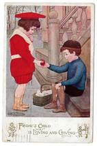 Maria Kirk Fridays Child National Art Co Vintage 1907 AS Postcard Children - $4.99