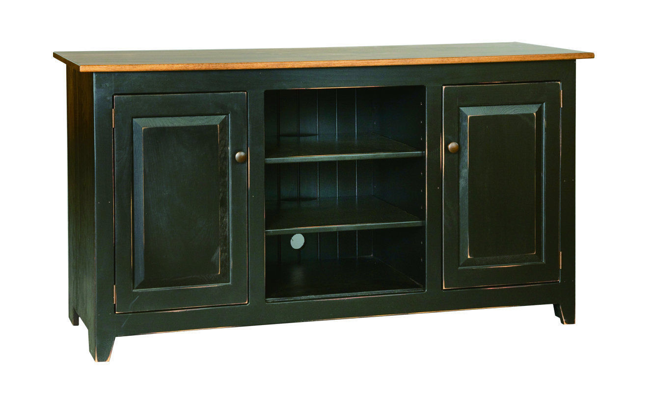 Television Stand Media Center 60 Custom Finished Maple