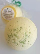 LemonGrass BATH BOMB ~ All Natural Handmade Luxurious Spa Experience USA - £5.64 GBP
