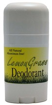 Lemongrass Deodorant ~ All Natural Handmade and Aluminum Free ~ Made in ... - $8.86
