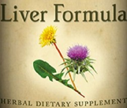 LIVER FORMULA Liquid Herbal Tincture Traditional Blend USA Made - $13.83+