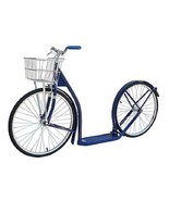 24/20 ADULT KICK SCOOTER - NAVY BLUE Genuine Amish Big Wheel USA MADE - $355.73